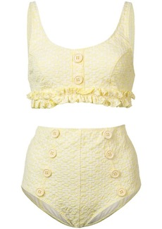 Lisa Marie Fernandez button-embellished bikini set