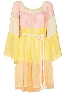 Lisa Marie Fernandez colour-block mini dress