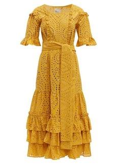 Lisa Marie Fernandez January broderie-anglaise cotton midi dress