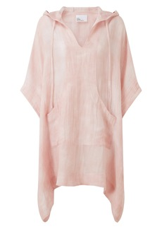 Lisa Marie Fernandez Tie Dye Cotton & Linen Cover-Up Caftan