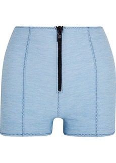 Lisa Marie Fernandez Woman Stretch-denim Shorts Light Denim