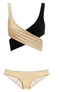 Lisa Marie Fernandez Marie Lousie Wrap Bikini