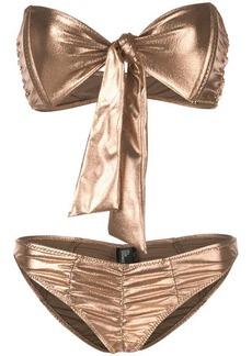 Lisa Marie Fernandez ruched bikini set