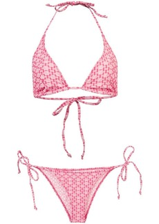 Lisa Marie Fernandez ruffle string bikini set