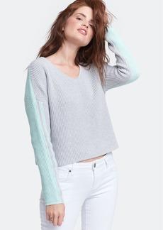 Lisa Todd 2 Faced Boxy V-Neck Sweater