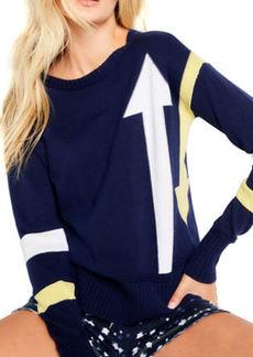 Lisa Todd Aim High Cotton Sweater