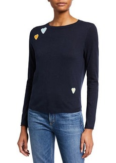 Lisa Todd Crazy In Love Curved-Hem Sweater