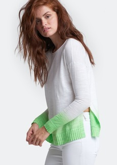 Lisa Todd Dipped Sweater