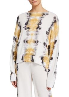 Lisa Todd Dream On Tie Dye Cotton Sweater