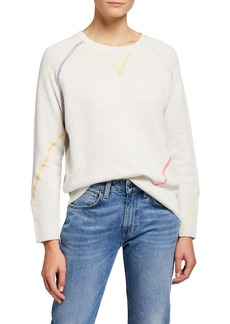 Lisa Todd In Stitches V-Neck Sweater
