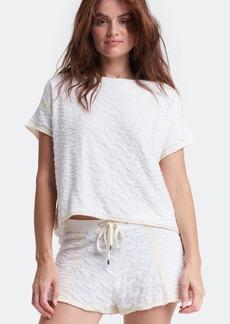 Lisa Todd Looptee Terry Crewneck T-Shirt