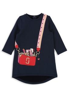 Little Marc Jacobs Baby Girl's & Little Girl's Fleece Trompe L'oeil Dress