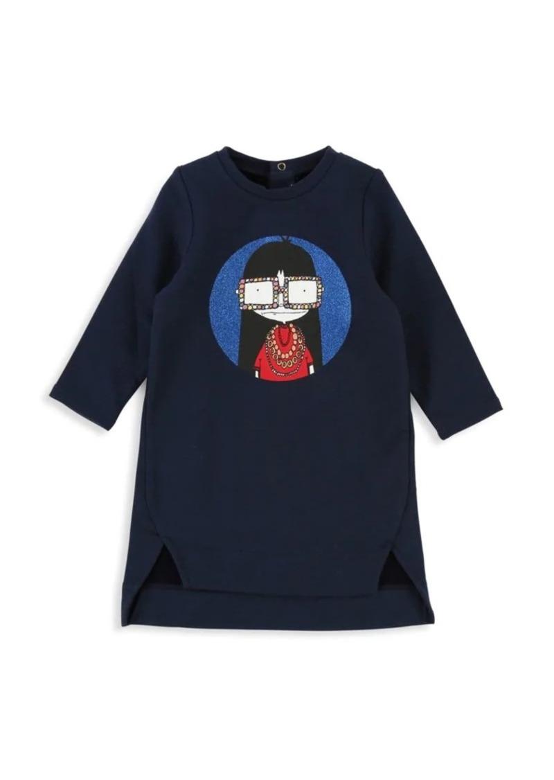 Little Marc Jacobs Baby Girl's & Little Girl's Miss Marc T-Shirt Dress