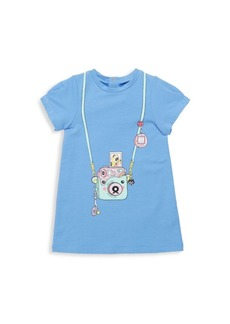 Little Marc Jacobs Baby's & Toddler's Essential Trompe L'Oeil SS Graphic Print Dress