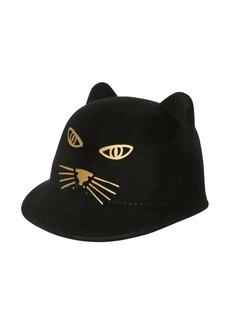 Little Marc Jacobs Cat Wool Felt Hat
