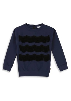 Little Marc Jacobs Girl Fringe Sweater