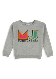 Little Marc Jacobs Little Girl's & Girl's Logo Sweater
