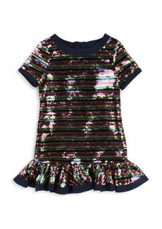 Little Marc Jacobs Little Girl's & Girls Sequin Shift Dress