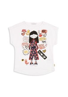 Little Marc Jacobs Little Girl's& Girl's Miss Marc T-Shirt