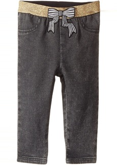 Little Marc Jacobs Denim Effect Trousers with Bow Patch (Infant)