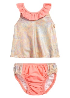 LITTLE MARC JACOBS Irisescent Two-Piece Swimsuit (Baby Girls)