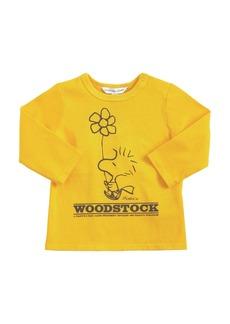 Little Marc Jacobs Peanuts Print Cotton Jersey T-shirt