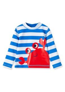 Infant Boy's Little Me Crab Rashguard