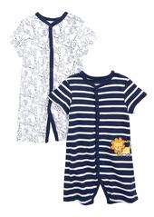 Infant Boy's Little Me Lion 2-Pack Rompers