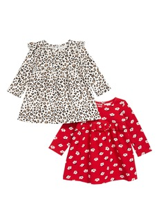 Little Me 2-Pack Print Knit Dresses (Baby)