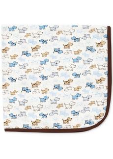 Little Me Baby Boys Cute Puppies Blanket