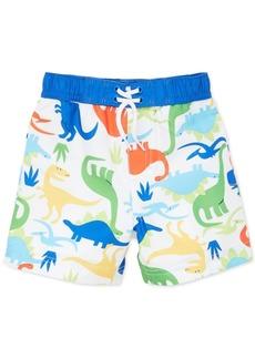 Little Me Baby Boys Dinosaur-Print Swim Trunks