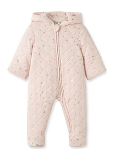Little Me Baby Girl Hearts Quilted Pram