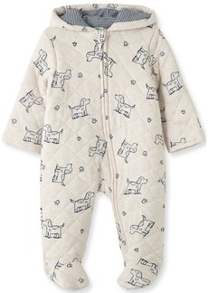 Little Me Baby Girl Puppies Quilted Pram