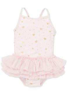 Little Me Baby Girls 1-Pc. Heart-Print Swimsuit