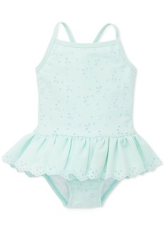 Little Me Baby Girls Eyelet One-Piece Swimsuit