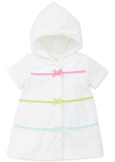 Little Me Baby Girls Hooded Swim Cover-Up