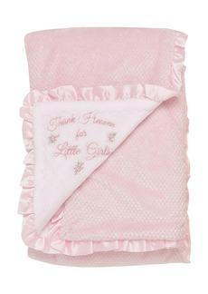 Little Me Baby Girls Thank Heaven Textured Blanket
