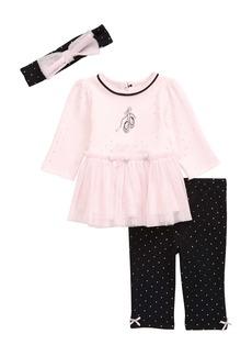 Little Me Ballet Top & Leggings Set (Baby)