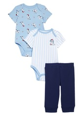 Little Me Baseball Bodysuits & Pants Set (Baby)