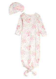 Little Me Blossom Gown & Hat Set (Baby)