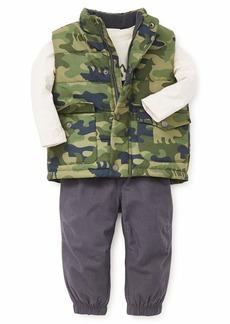 Little Me Boys' Toddler Jacket Set camo/Ebony