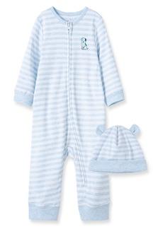 Little Me Buddy Romper & Hat Set (Baby)