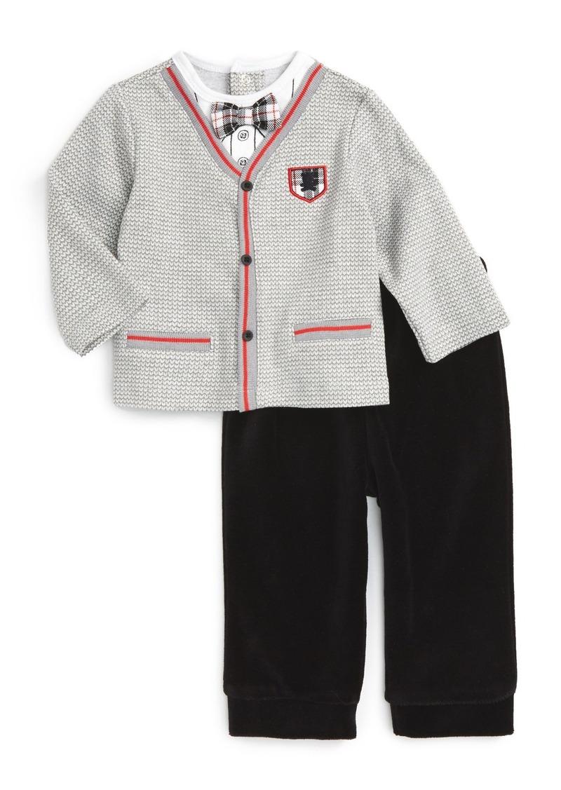 Little Me Cardigan & Pants Set (Baby Boys)