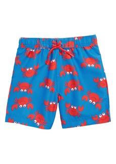 Little Me Crab UPF 50+ Swim Trunks (Baby Boys)