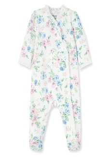 Little Me Daisy Print Footie (Baby) (Nordstrom Exclusive)