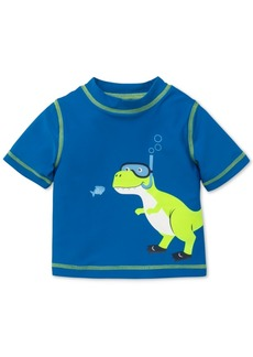 Little Me Dino-Print Rash Guard, Baby Boys