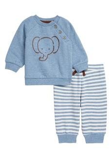 Little Me Elephant Sweatshirt & Pants Set (Baby)