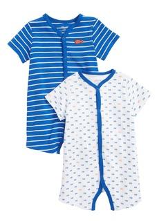 Little Me Fish 2-Pack Rompers (Baby Boys)