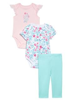 Little Me Floral 2-Pack Bodysuits & Leggings Set (Baby)