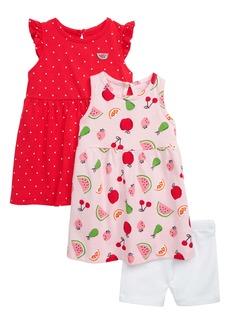 Little Me Fruit 2-Pack Dresses & Shorts Set (Baby)